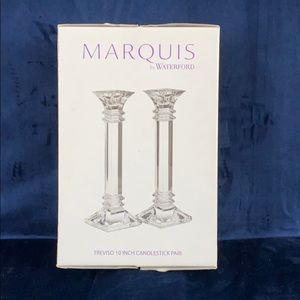 Marquis by Waterford Chrystal 10in Candlesticks